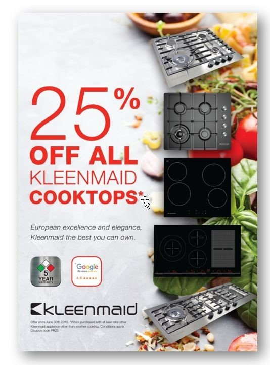 Kleenmaid Offer for June 2019