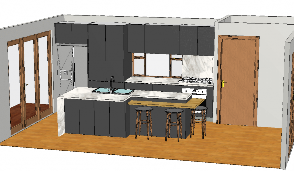 3D Diagrams are included in all designs and quotes