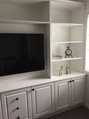 Design and build custom cabinets to fit any space.