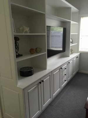 Large Brisbane room cabinet build