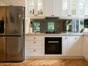 Specifically designed Bulimba shaker kitchen and laundry