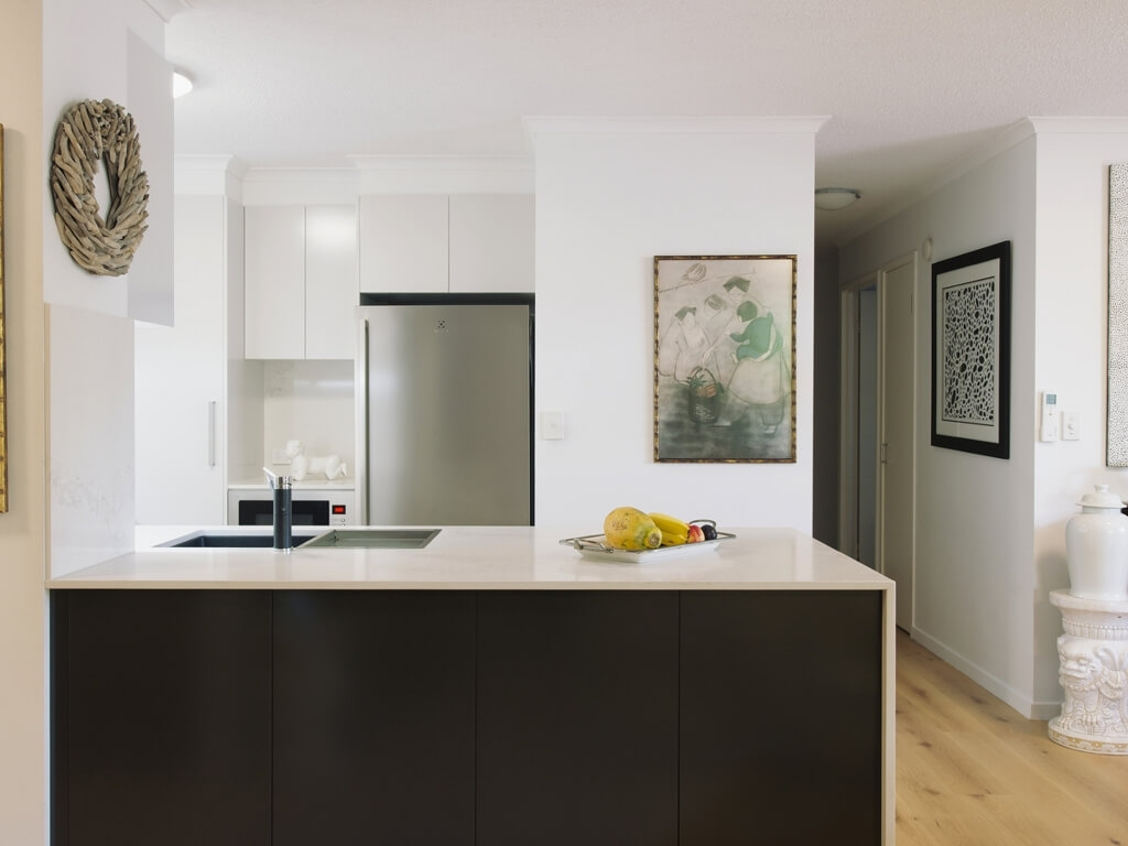 Sophisticated Kangaroo Point kitchen