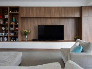 Unique TV cabinet design and build